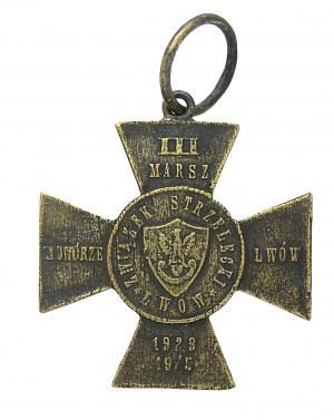 KRZYŻ III MARSZ ZADWÓRZAŃSKI ZWIĄZKU STRZELECKIEGO, 1929 R.
