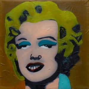 The Krasnals, Marilyn Monroe/Tribute to Andy Warhol/Piękno zakryte/z cyklu PIĘKNO W SZTUCE, 2012