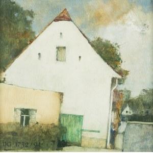 Jerzy Duda-Gracz (1941 Częstochowa - 2004 Łagów), Obraz 1732 - Łagów, 1994