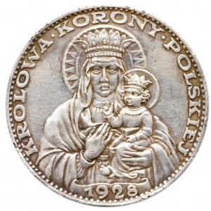II Rzeczpospolita, 5 złotych 1928 - medal Amrogowicza