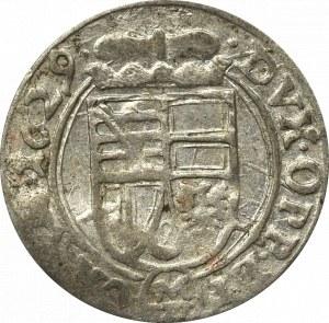 Schlesien, Carol Liechtenstein, 1 kreuzer 1629