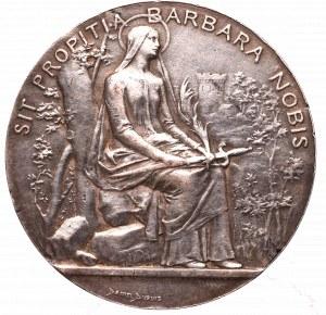 Francja, Żeton barbórkowy 1774 Chabron d`Aniche - srebro