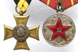 Zestaw odznaczeń XX lat ZSRR i XX-lecie służby Austro-Węgry