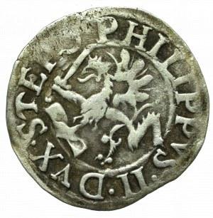 Pommern, Duchy of Stettin, Philip II, Groschen 1615, Stettin