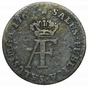 Swedish occupation of Pommern, Adolph Friedrich, 1/12 thaler 1763, Stralsund