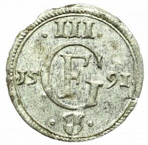 Prusy Książęce, Jerzy Fryderyk, Trzeciak 1591, Królewiec
