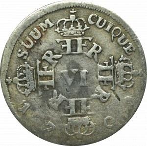 Germany, Preussen, Friedrich II, 6 groschen 1709, Konigsberg