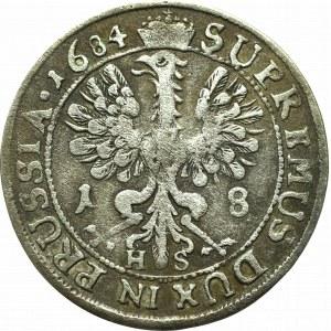 Prusy Książęce, Fryderyk Wilhelm, Ort 1684, Królewiec