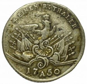 Germany, Preussen, Friedrich II, 1/4 thaler 1750 A