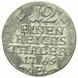 Germany, Preussen, Friedrich II, 1/12 thaler 1765
