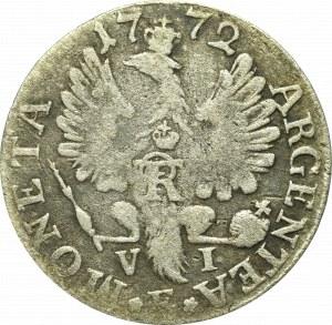 Germany, Preussen, Friedrich II, 6 groschen 1772