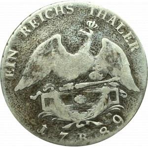 Niemcy, Prusy, Fryderyk Wilhelm, Talar 1789 B