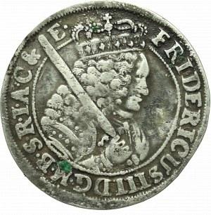 Prusy Książęce, Fryderyk III, Ort 1699, Królewiec