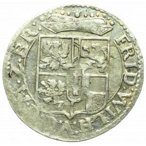 Niemcy, Prusy, Fryderyk Wilhelm, Grosz 1670
