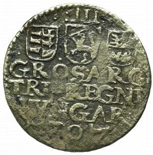 Hungary, Stefan Bocskai, 3 groschen 1607