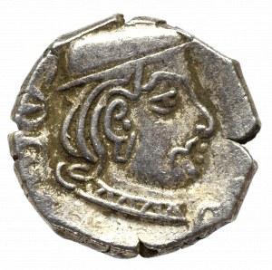 Indo-Partowie, Rudrasena II, Drachma
