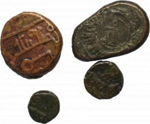 Indie (?), Zestaw monet brązowych