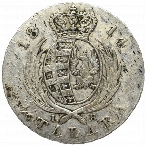 Duchy of Warsaw, 1/6 thaler 1814