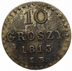 Grand Duchy of Warsaw, 10 groschen 1813