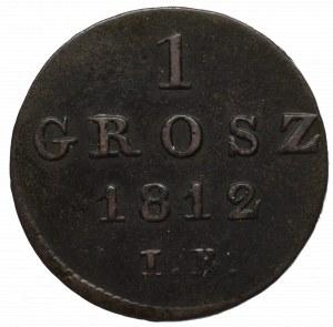 Duchy of Warsaw, 1 groschen 1812