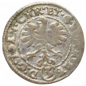 Śląsk, Księstwo legnicko-brzesko-wołowskie, 3 krajcary 1611, Złoty Stok