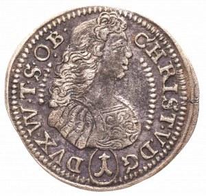 Śląsk, Oleśnica, 1 krajcar 1684