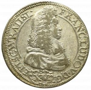 Śląsk, Franciszek Ludwik z Neuburga, 15 krajcarów 1693 LPH, Nysa