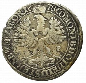 Śląsk, Księstwo Oleśnickie, Juliusz Zygmunt, 6 krajcarów 1678