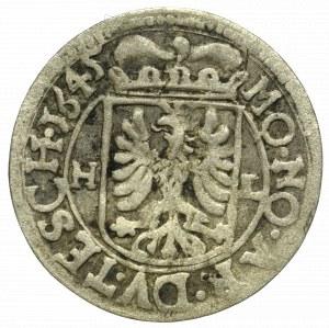 Śląsk, Księstwo Cieszyńskie, Ferdynand III, 1 krajcar 1645