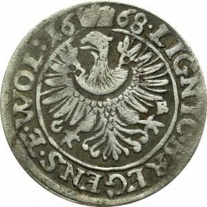 Schlesien, Christian of Wohlau, 3 kreuzer 1668