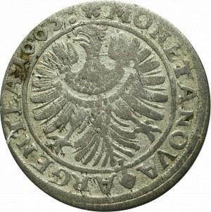 Śląsk, Księstwo Legnciko-Brzesko-Wołowskie, Christian, 6 krajcarów 1665, Brzeg
