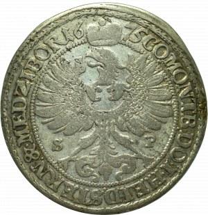 Schlesien, Duchy of Oels, Sylvius Friedrich, 15 kreuzer 1675