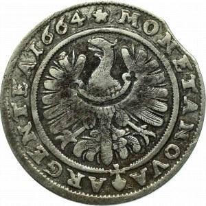 Schlesien, Christian, 15 kreuzer 1664, Brieg