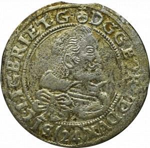 Schlesien, Georg Rudolph, 24 kreuzer 1622, Liegnitz