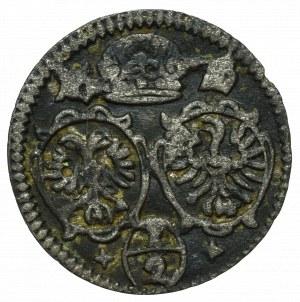 Schlesien under Habsburg, Leopold I, 1/2 kreuzer 167(?), Oppeln