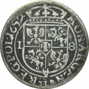 Jan II Kazimierz, Ort 1659, Kraków - IO CASIM