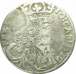 John II Casimir, 18 groschen 1657, Cracow