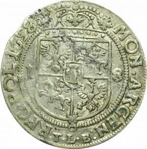 John II Casimir, 18 groschen 1658, Cracow