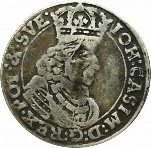 John II Casimir, 6 groschen 1661, Bromberg