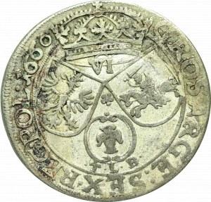 Jan II Kazimierz, Szóstak 1660, Kraków