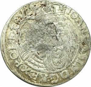 John II Casimir, 6 groschen 1663, Lviv
