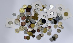 Zestaw monet świat