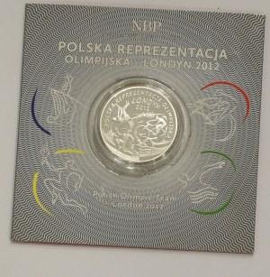 III RP, 10 złotych 2012 Reprezentacja Olimpijska