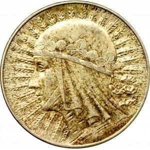 II Rzeczpospolita, 5 złotych 1933 Głowa kobiety