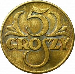 II Republic of Poland, 5 groschen 1923