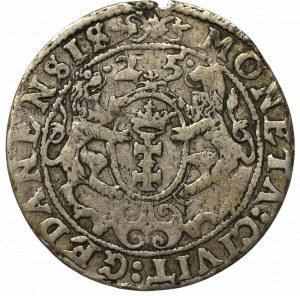 Sigismund III, 18 groschen 1625, Danzig