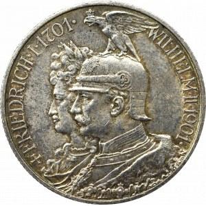 Germany, Preussen, 2 mark 1901 - 200 years of Kingdom of Prussia
