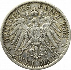 Niemcy, Prusy, 2 marki 1902