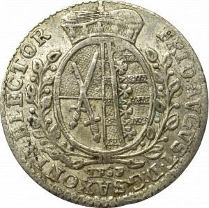 Germany, Saxony, 1/12 tahler 1764
