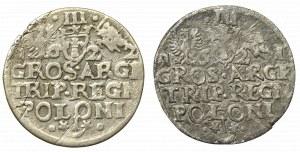 Zygmunt III Waza, Zestaw trojak 1621-22, Kraków